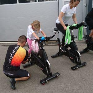Marathon de spinning, Août 2021